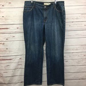 Venezia Rigid Bootcut Jeans Size 18 Average